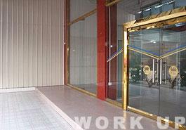 工場の入口