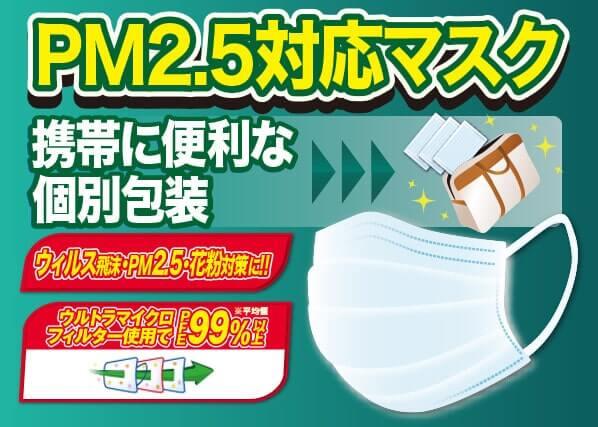 販促マスク PFE99%以上(日本カケンセンター平均値) 安心の国内検品